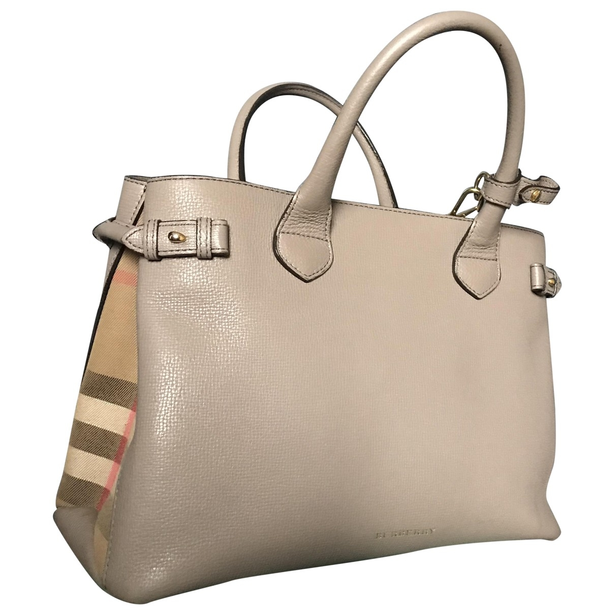 Burberry The Banner  Leather handbag for Women \N