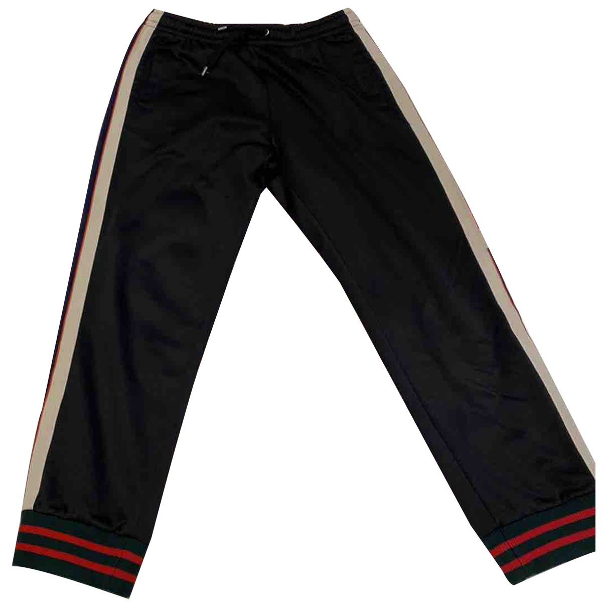 Gucci \N Black Cotton Trousers for Men XS International