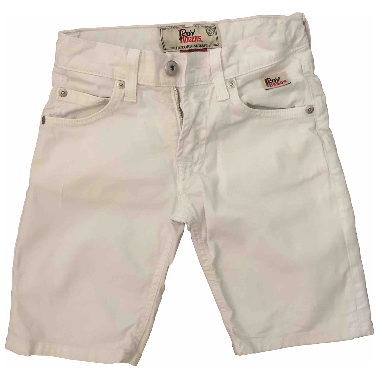 Roy Roger's \N White Denim - Jeans Trousers for Kids 6 years - up to 114cm FR
