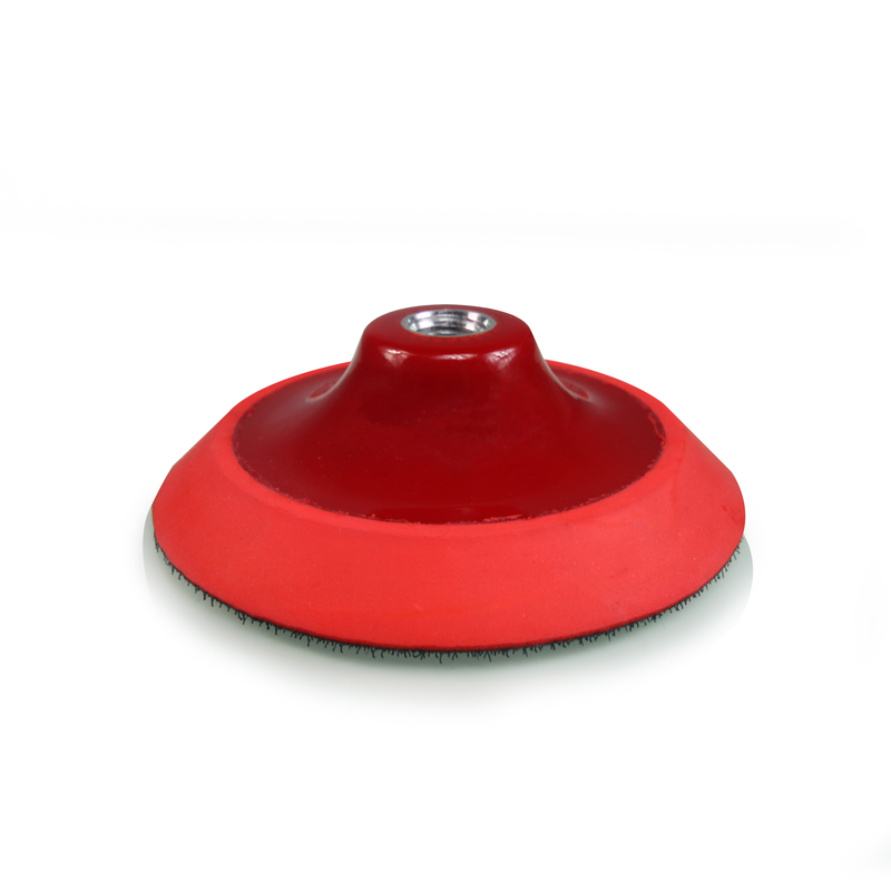 TORQ R5 Rotary Red Backing Plate With Hyper Flex Technology - Chemical Guys
