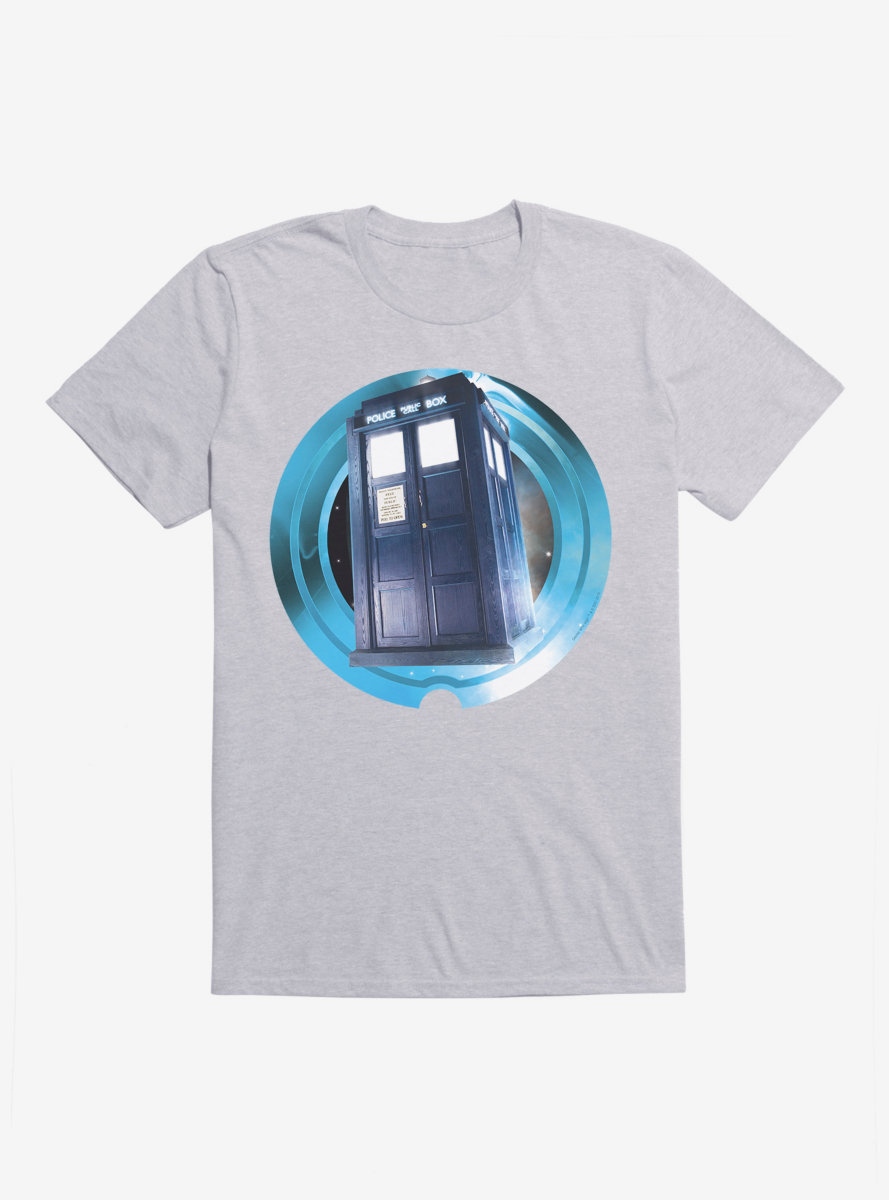 Doctor Who TARDIS Ready To Go T-Shirt