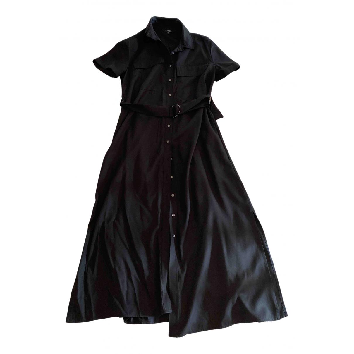 Karen Millen \N Black Cotton dress for Women 12 UK