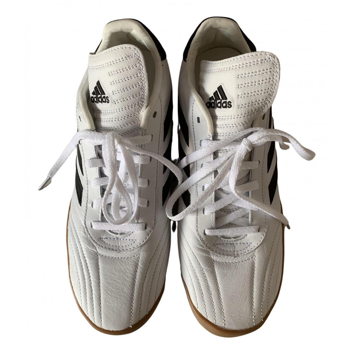Adidas X Gosha Rubchinskiy \N White Leather Trainers for Men 40.5 EU