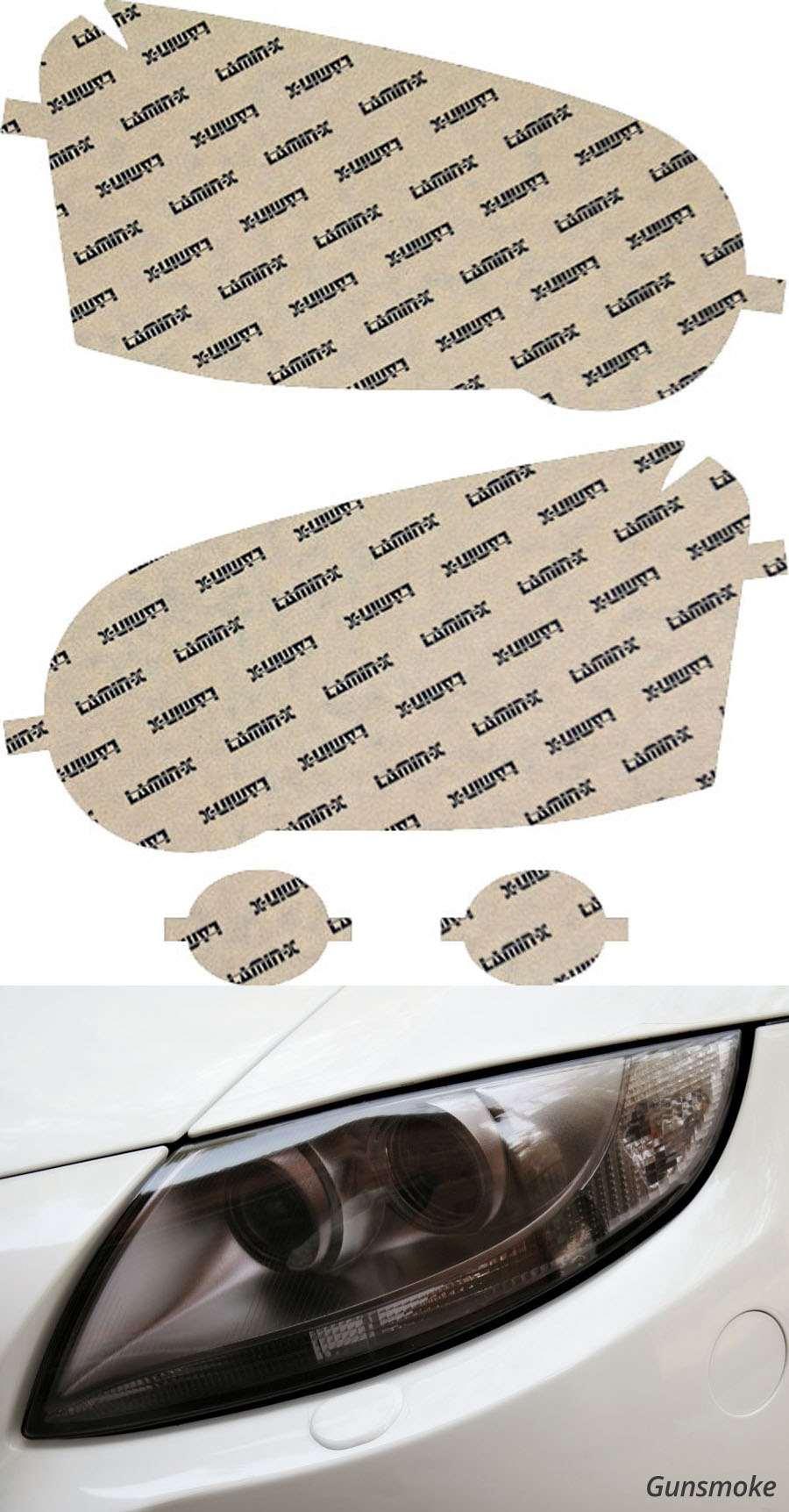 Subaru Impreza WRX   STI 04-05 Gunsmoke Lighting Covers Lamin-X S004G