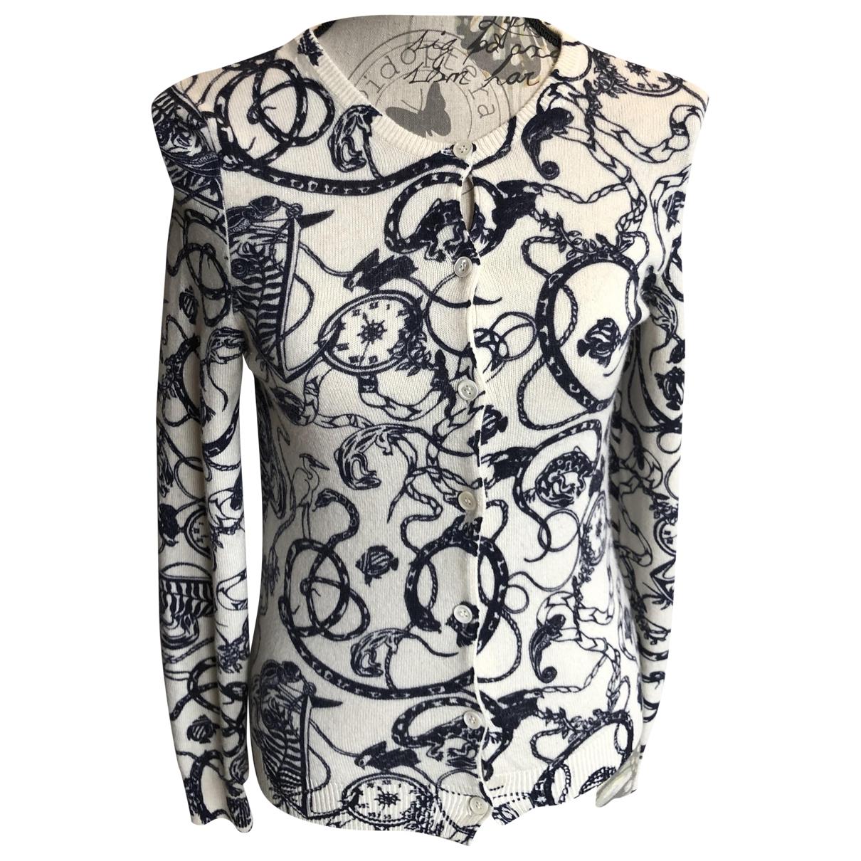 Eric Bompard \N White Cashmere Knitwear for Women 36 FR