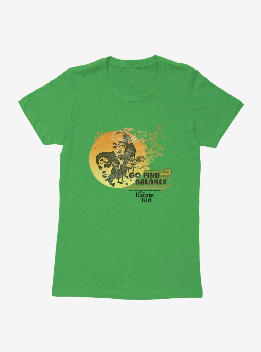 The Karate Kid Find Balance Womens T-Shirt