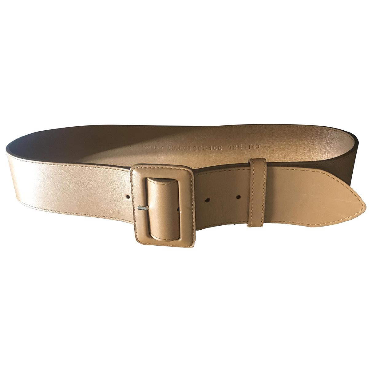Dior \N Camel Leather belt for Women M International