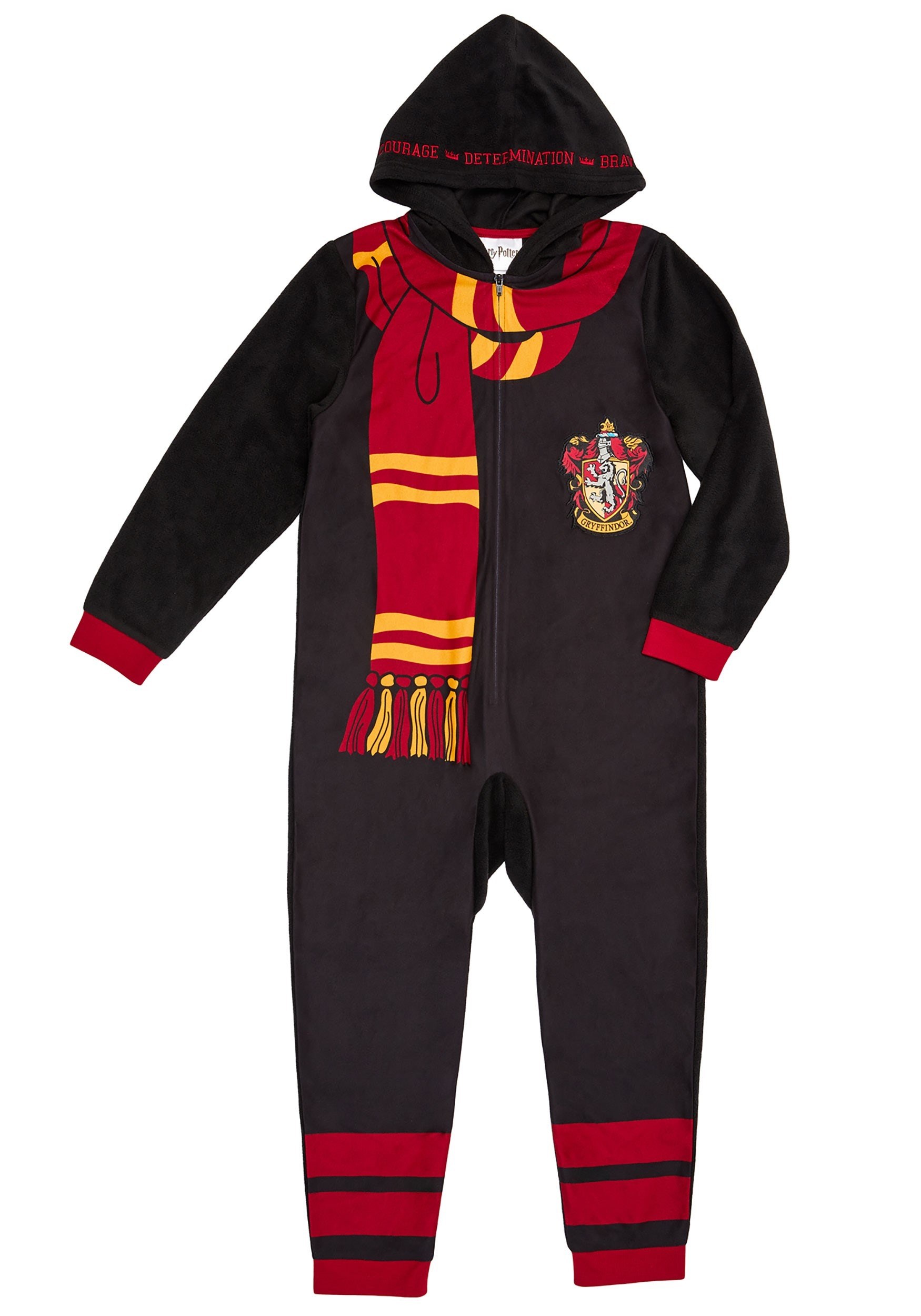 Harry Potter Hooded Union Suit For Kids