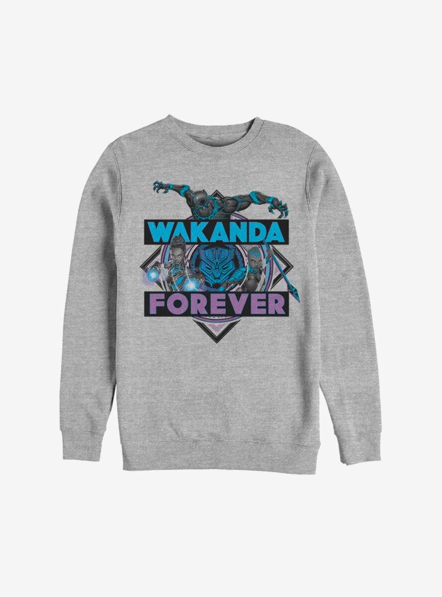 Marvel Black Panther Wakanda Forever Warriors Sweatshirt