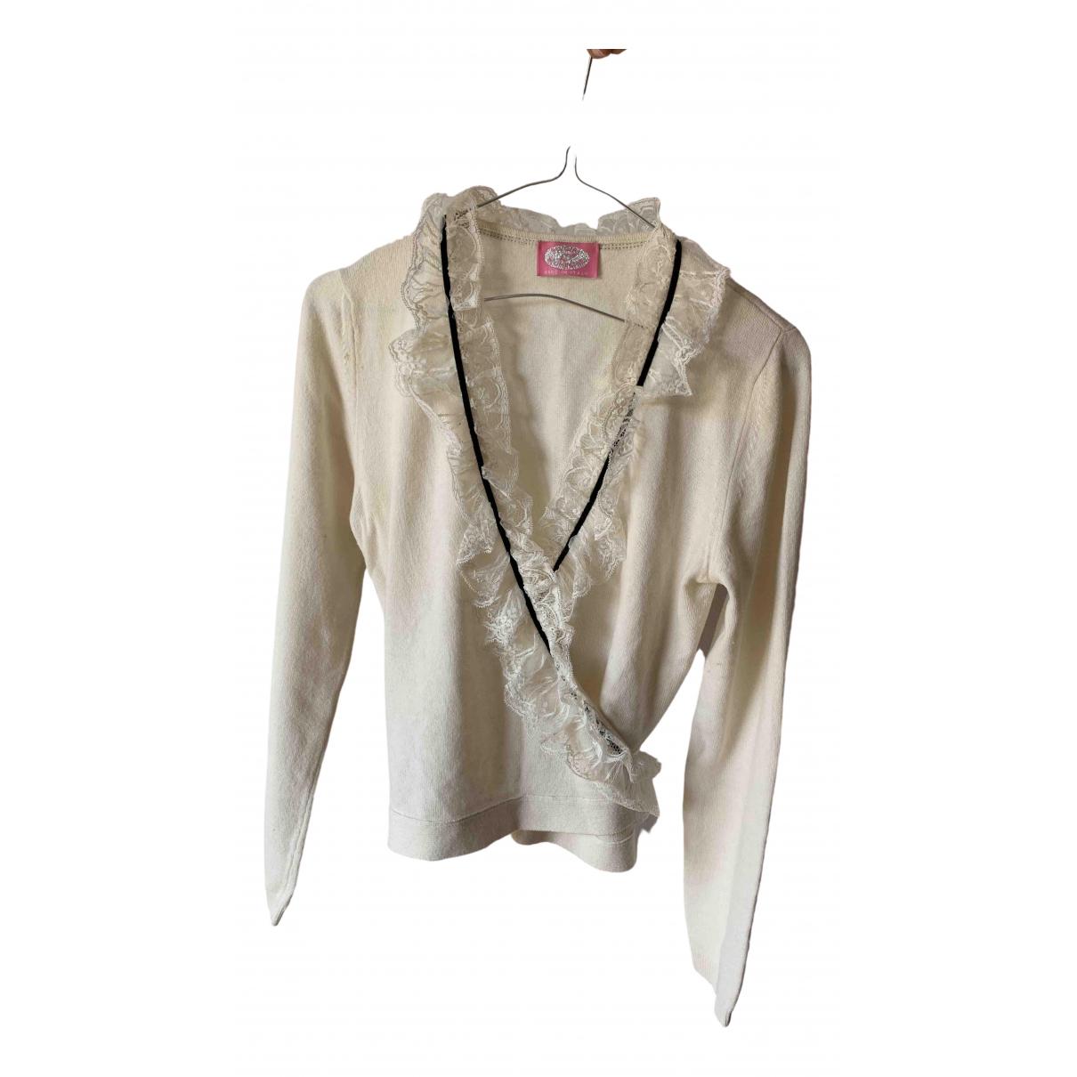 Blumarine \N White Cashmere Knitwear for Women S International