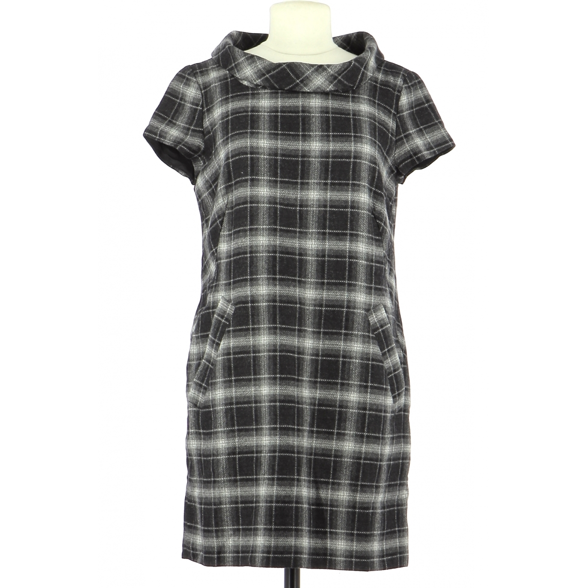 French Connection \N Grey Wool dress for Women 38 FR
