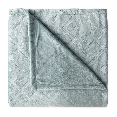 North Pole Trading Co Ultimate Plush Throw, One Size , Green