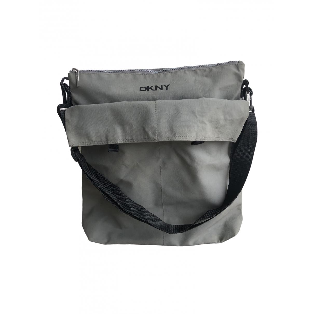 Dkny \N Grey Cloth bag for Men \N
