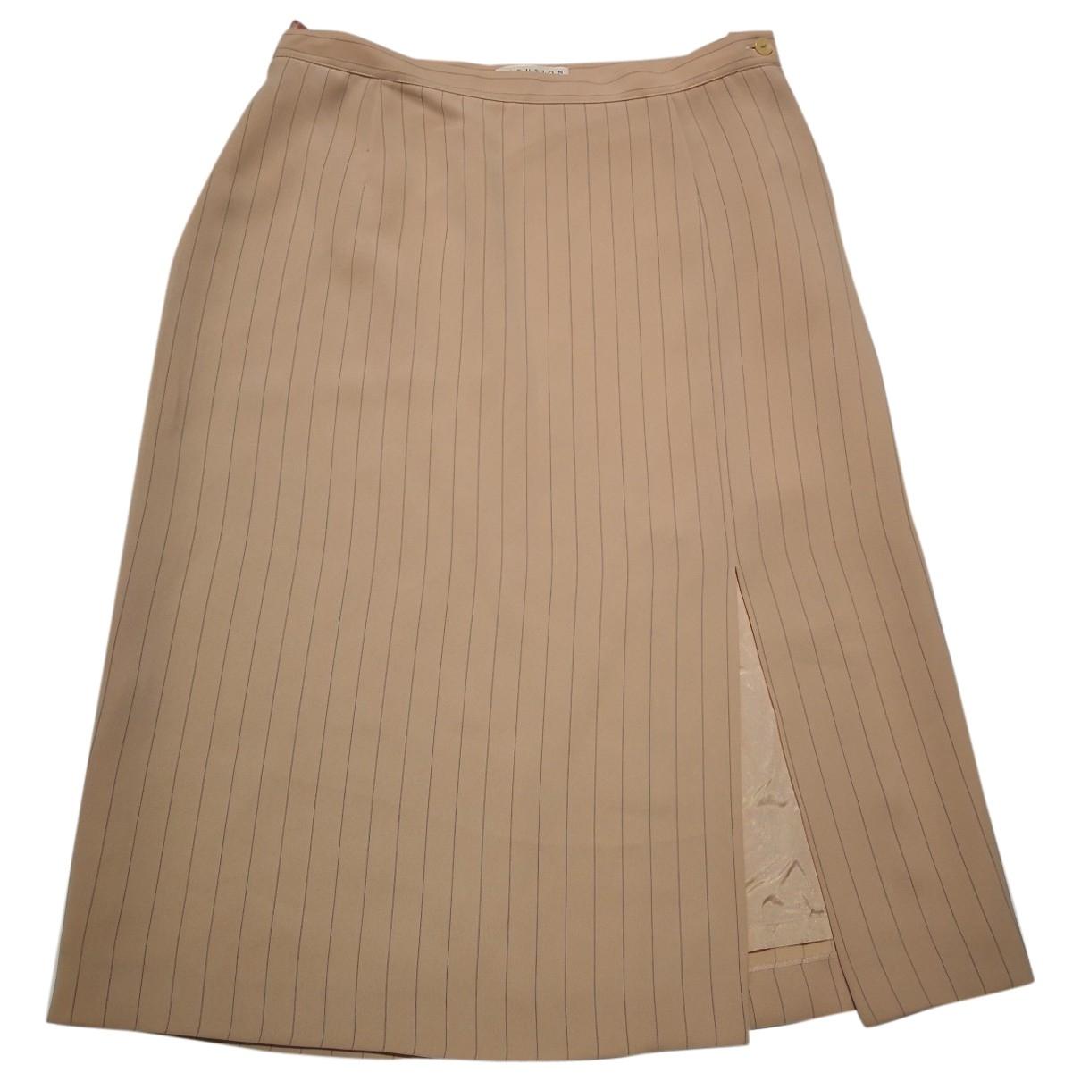 Kina Fernandez \N Beige skirt for Women 42 FR