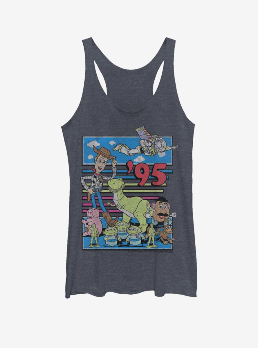 Disney Pixar Toy Story Fast Toys Womens Tank Top