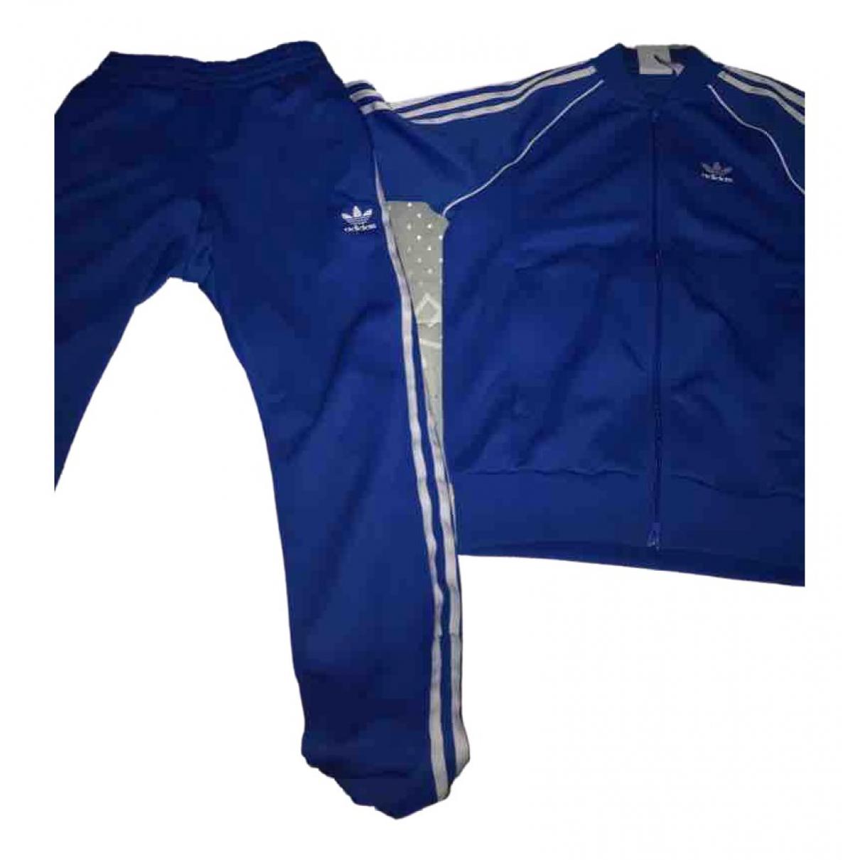 Adidas \N Blue Trousers for Men XS International