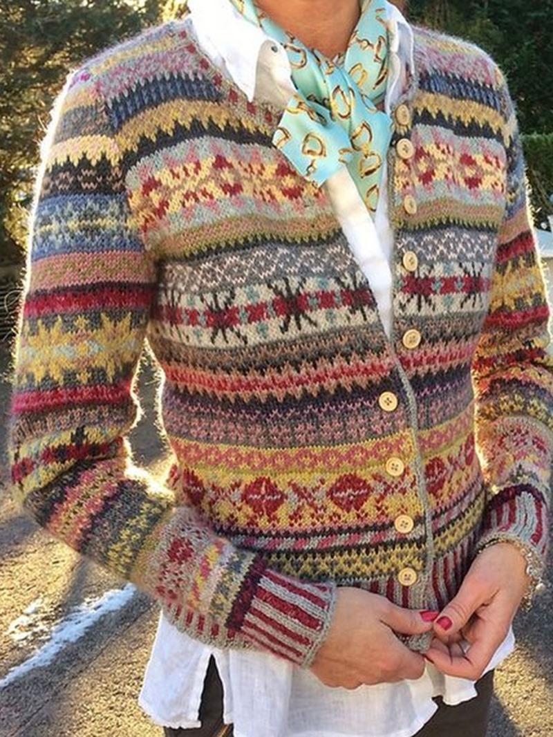 Ericdress Regular Standard Round Neck Women's Sweater
