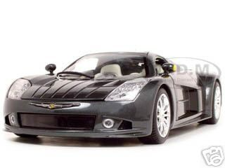 Chrysler Me Four Twelve Concept Car Grey 1/18 Diecast Model Car by Motormax