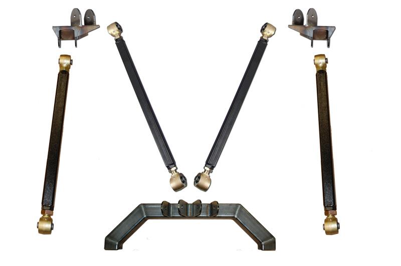 TJ Pro Series Rear Long Arm Upgrade Kit Clayton Offroad COR-4805017-COR