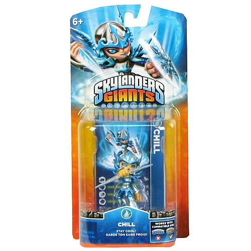 Skylanders: Giants Chill Single Core Character Mini-Figure