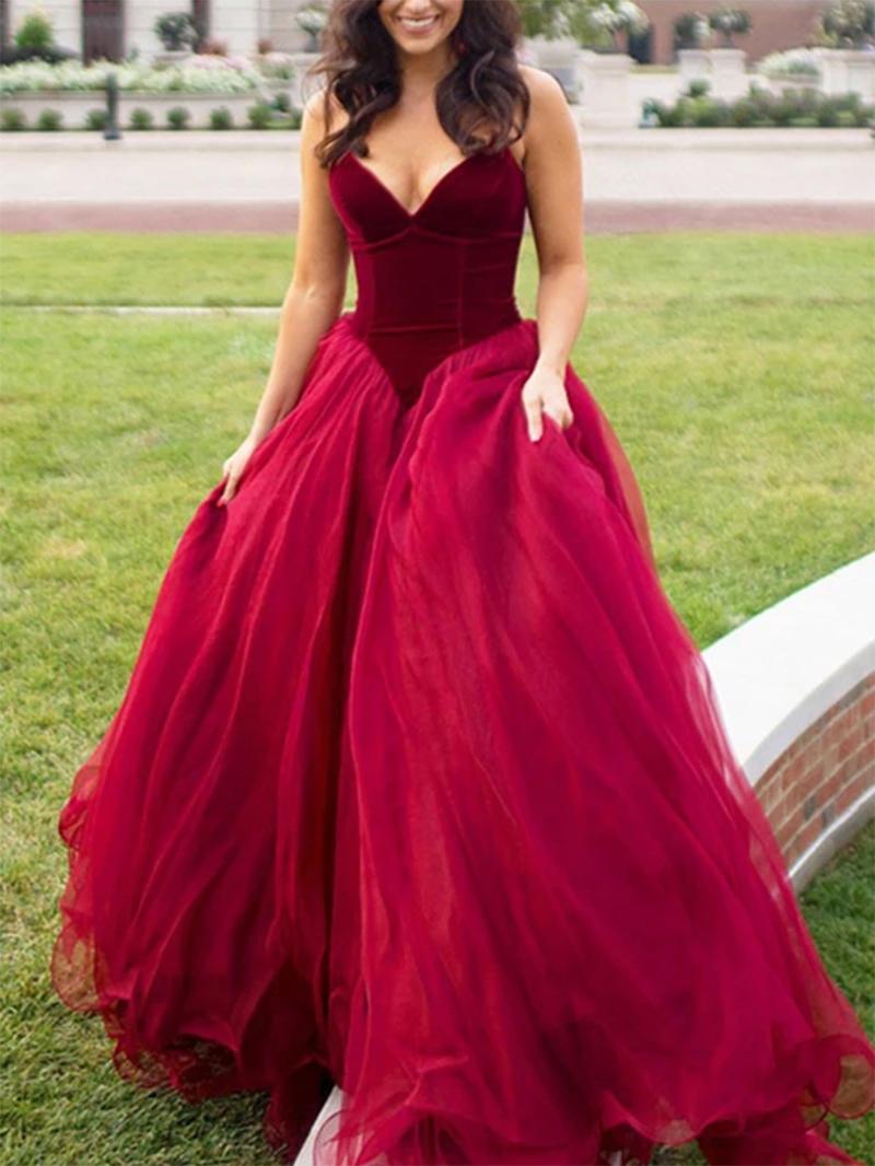 Ericdress Sweetheart Strapless Ball Gown Prom Dress