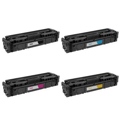 Compatible HP 215A W2310A W2311A W2312A W2313A Toner Cartridge Combo BK/C/M/Y - No Chip - Moustache®