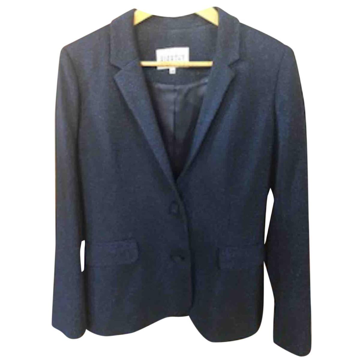 Claudie Pierlot \N Blue Cotton jacket for Women 38 FR