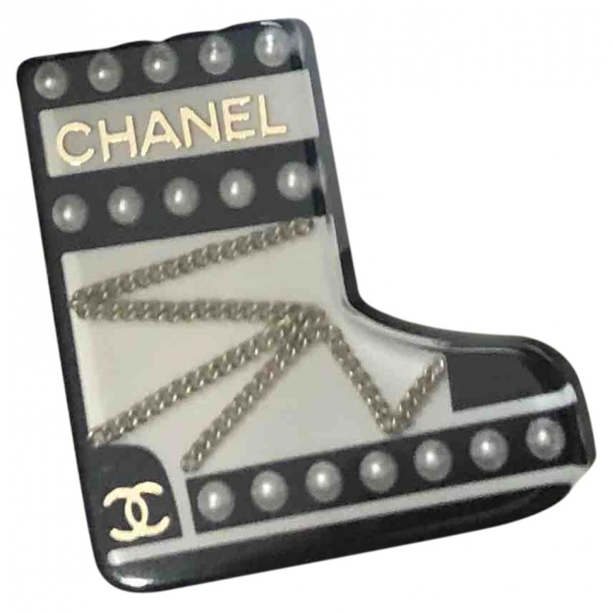 Chanel \N Black Pins & brooches for Women \N