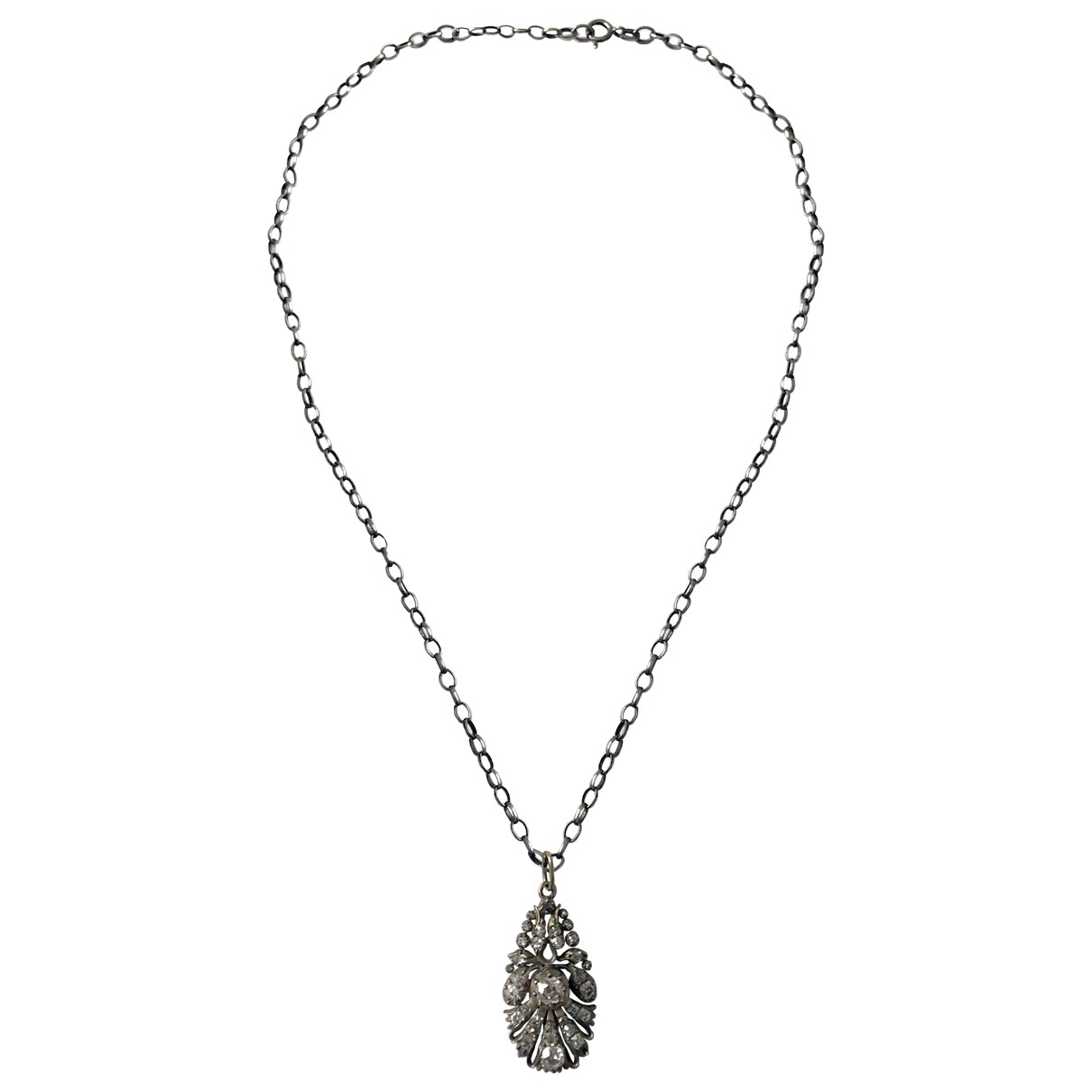 Non Signé / Unsigned \N Silver Silver pendant for Women \N