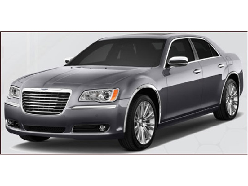 Quality Automotive Accessories  Molded Stainless Wheel Well Fender Trim  Chrysler 300  11-18