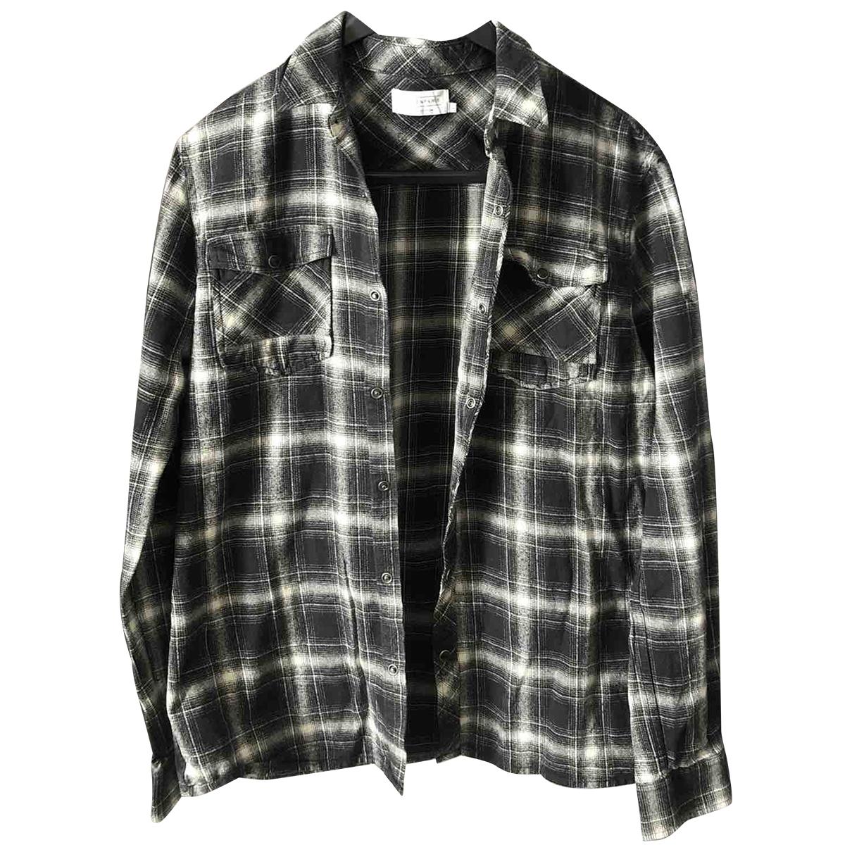 Eleven Paris \N Grey Cotton Shirts for Men L International