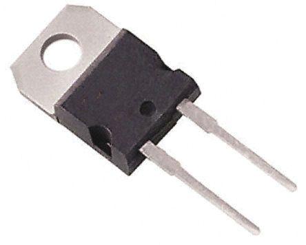 Vishay , VS-10TTS08STRL-M3, Thyristor, 800V 6.5A, 20mA 3-Pin, D2PAK (TO-263) (10)