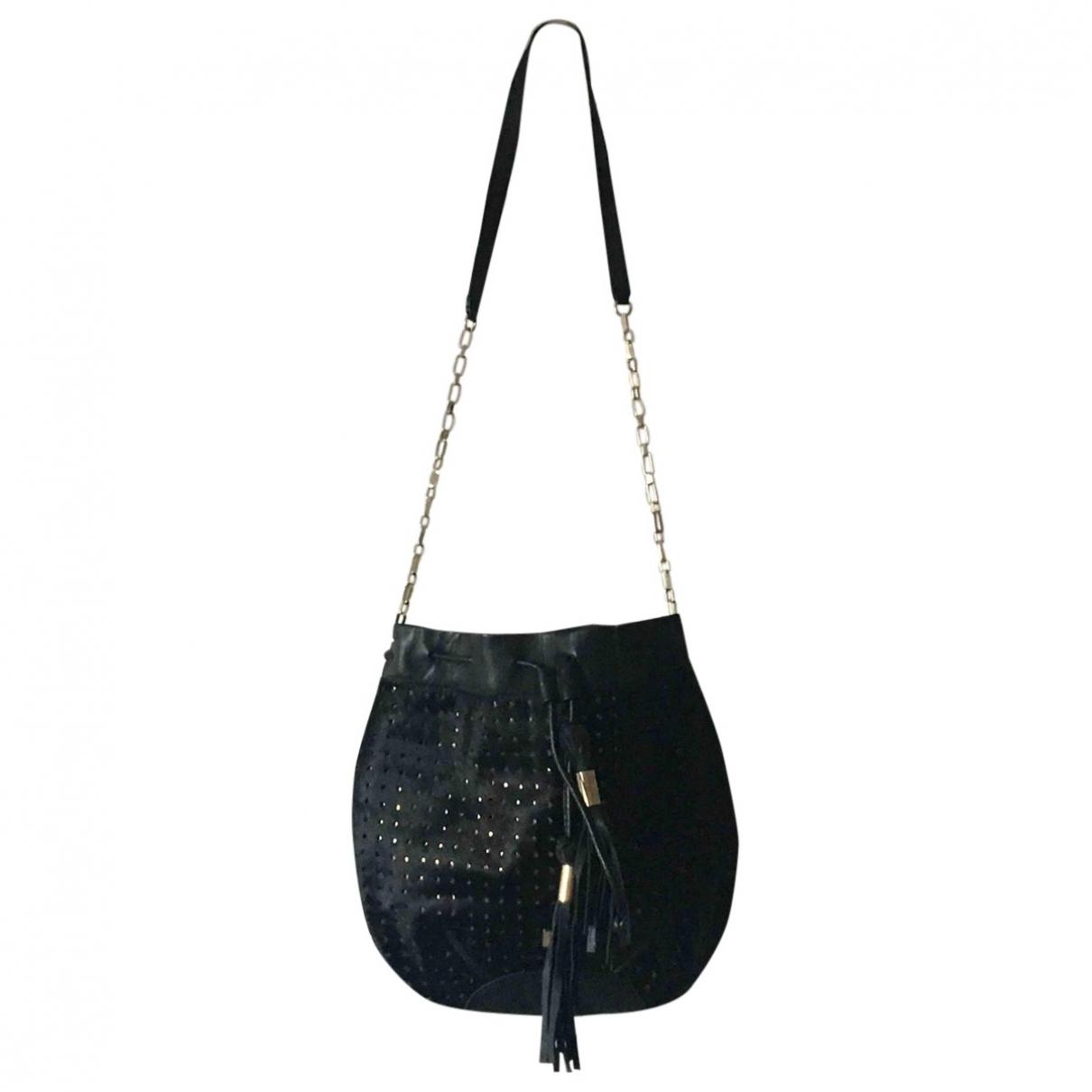 Hoss Intropia \N Black Pony-style calfskin handbag for Women \N