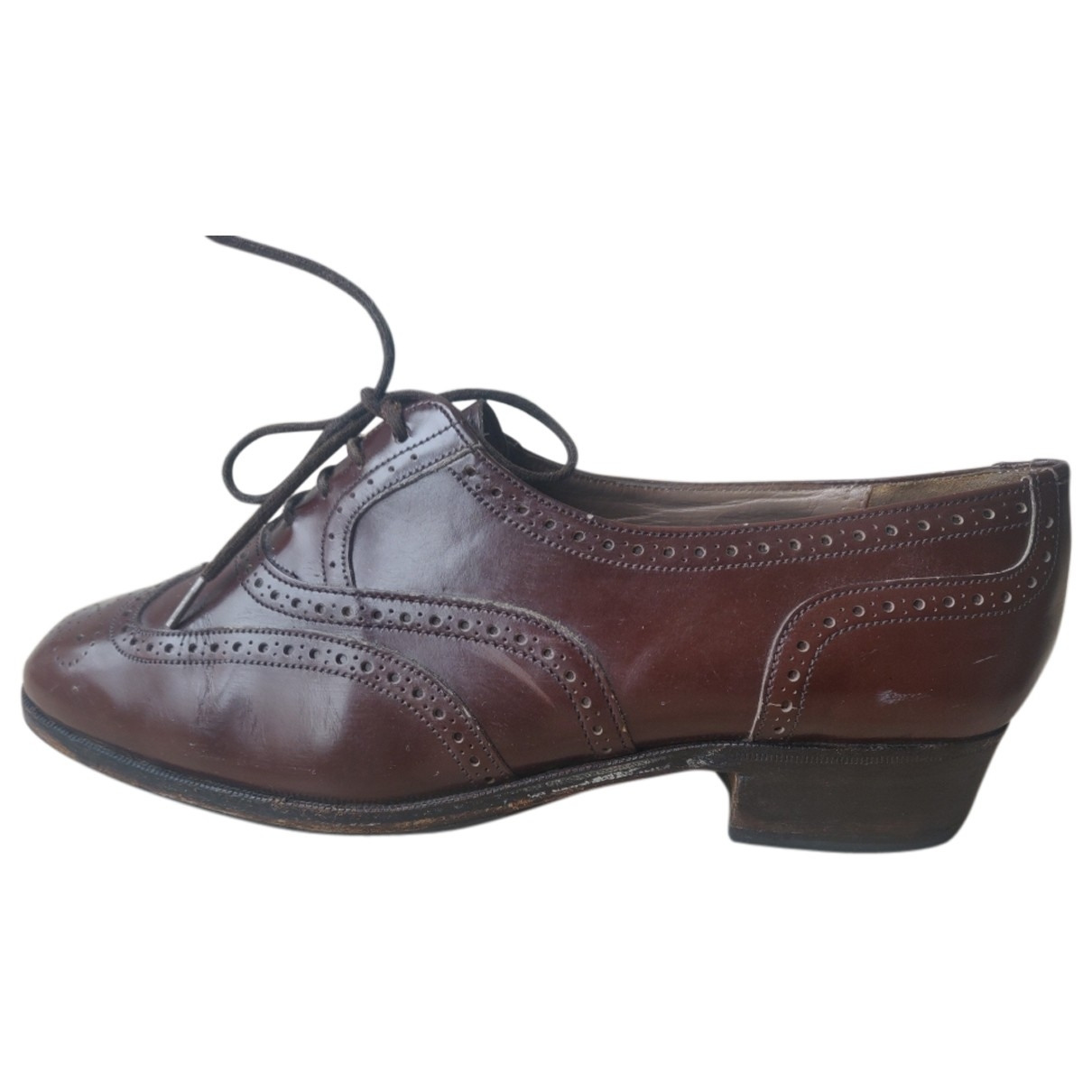 Church's \N Brown Leather Lace ups for Women 37 EU