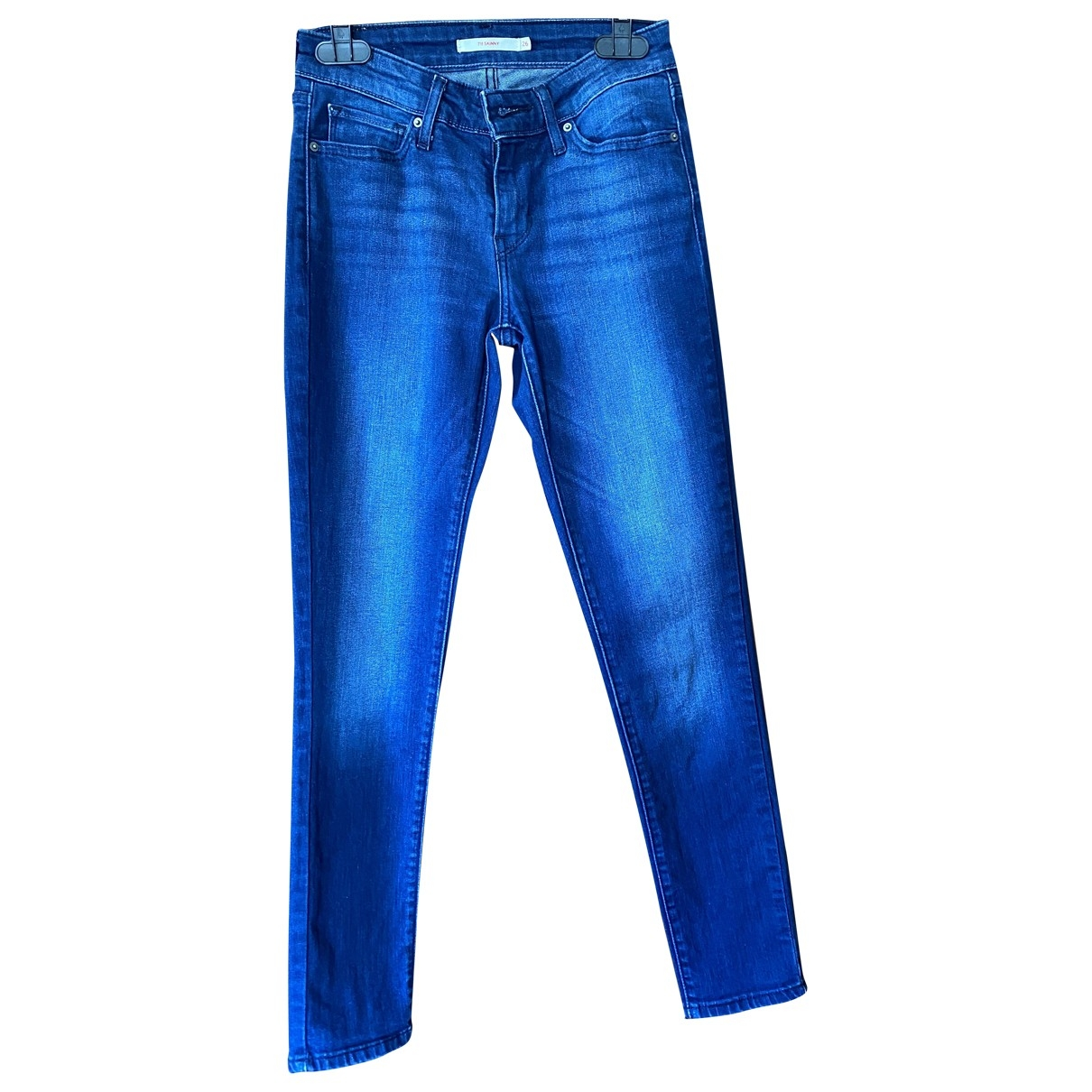 Levi's \N Blue Denim - Jeans Jeans for Women 26 US