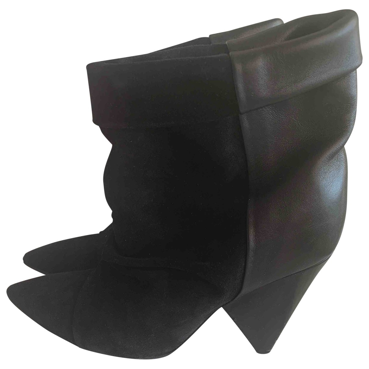 Isabel Marant \N Black Leather Boots for Women 39 EU