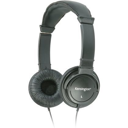 Kensington USB Hi-Fi Headphones, Black - 440073