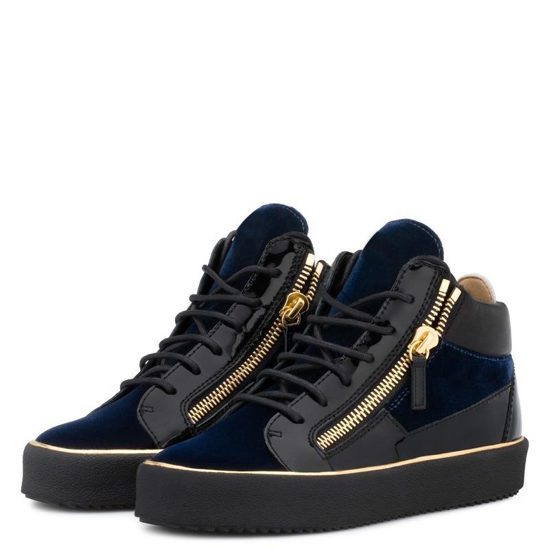 Ericdress Zipper High-Cut Upper Lace-Up Men's Shoes
