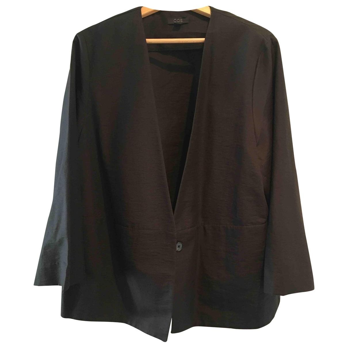Cos \N Black Cotton jacket for Women 38 FR