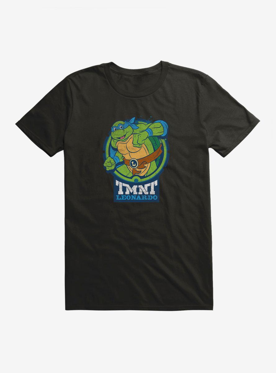 Teenage Mutant Ninja Turtles Leo Badge T-Shirt