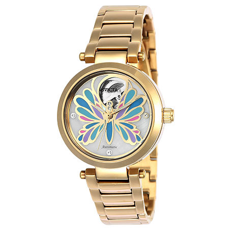 Invicta Angel Womens Gold Tone Bracelet Watch-24450, One Size , No Color Family