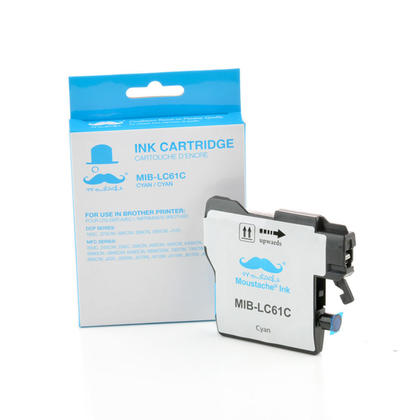 Compatible Brother MFC-250C Cyan Ink Cartridge by Moustache