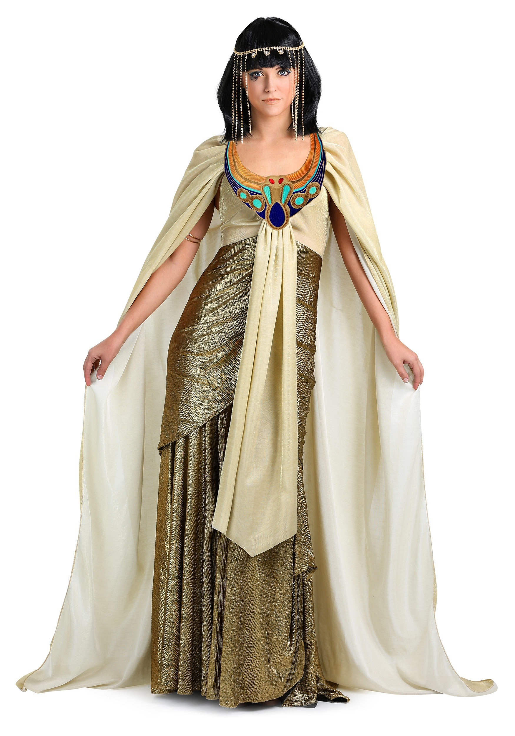 Women's Golden Cleopatra Costume
