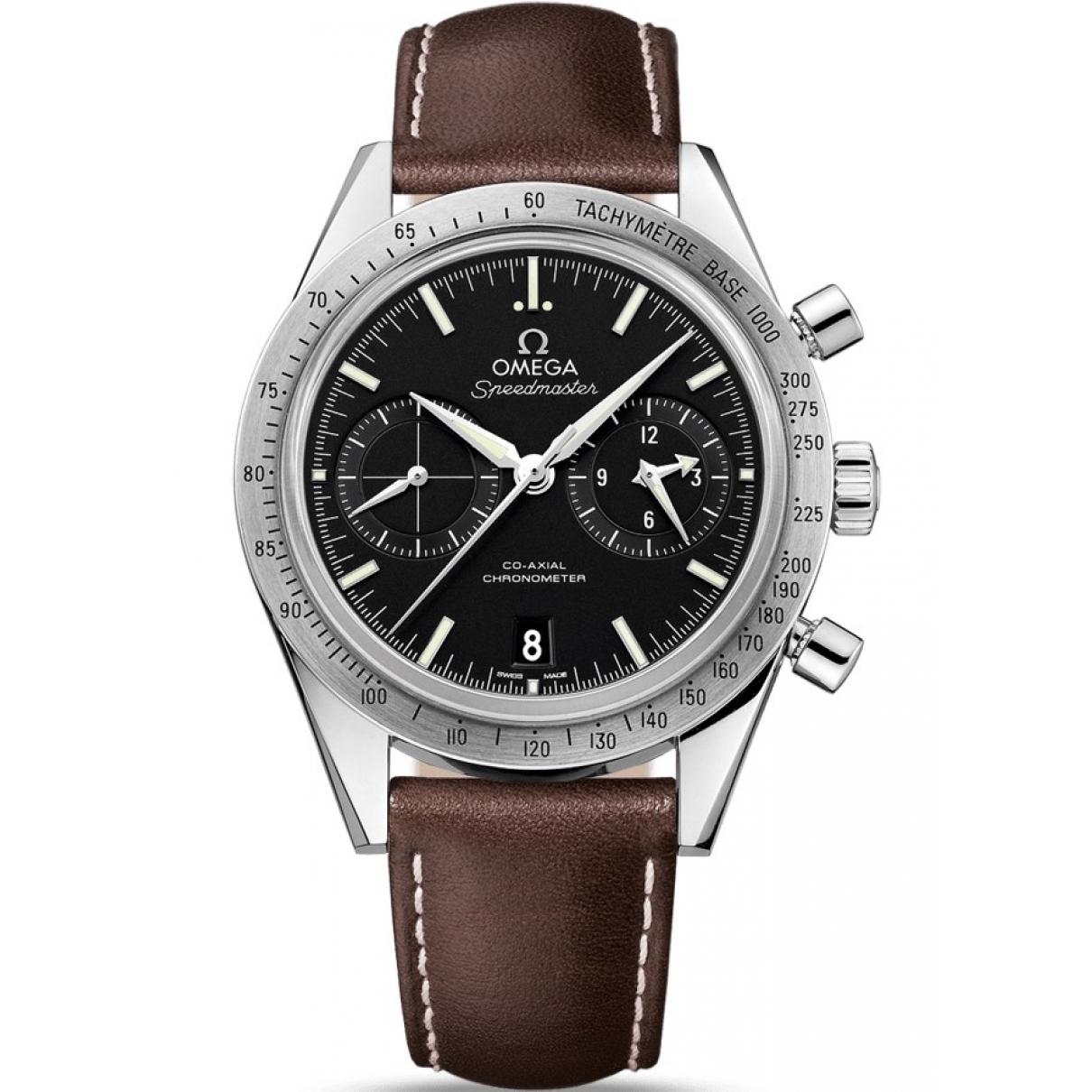 Omega Speedmaster Brown Steel watch for Men \N