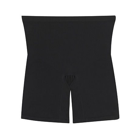 Maidenform Every Day Seamless Light Control Thigh Slimmers - 12627j, Small , Black