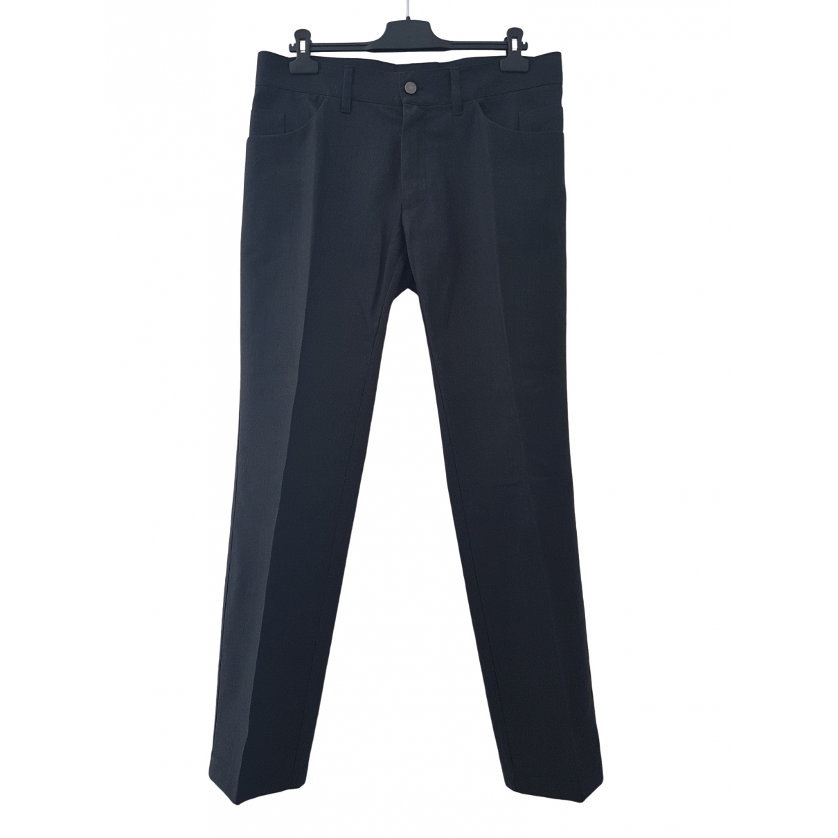 Dolce & Gabbana \N Grey Cotton Trousers for Men 52 IT