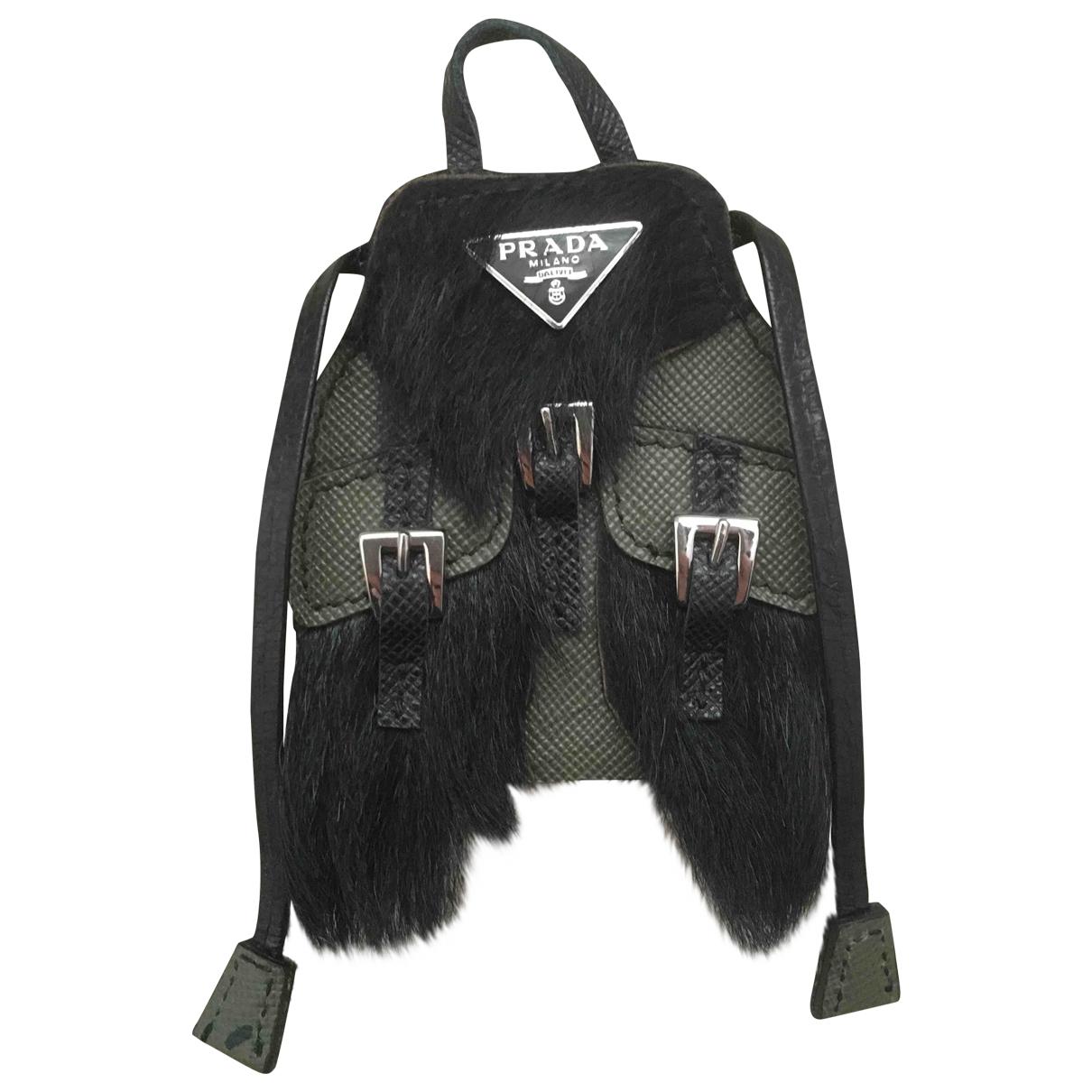 Prada \N Black Leather Jewellery for Men \N