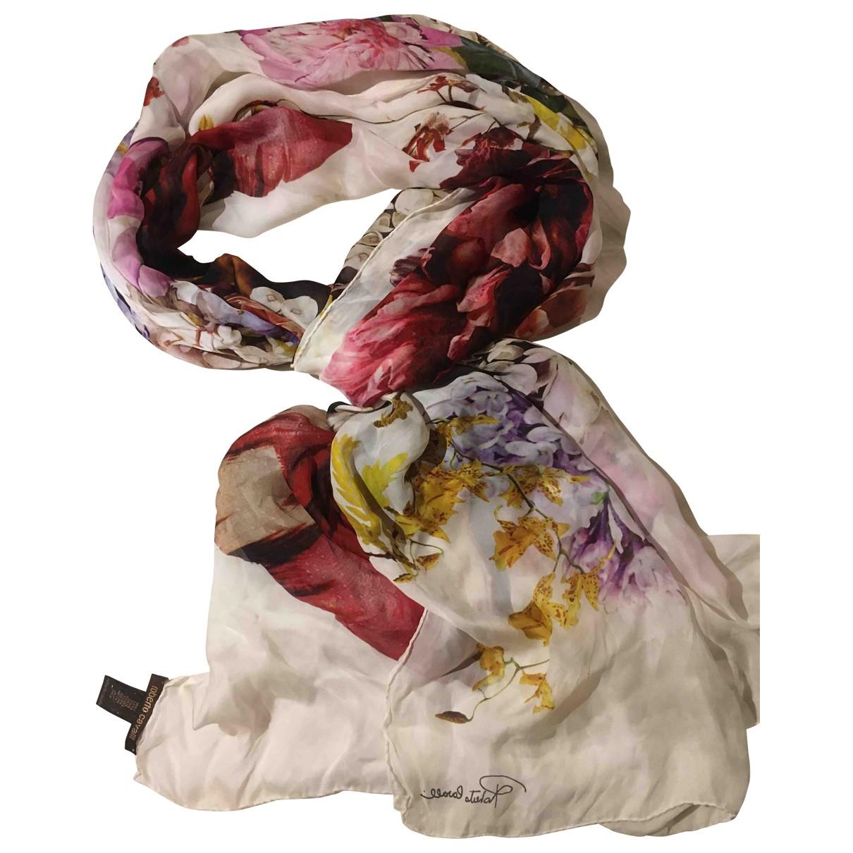 Roberto Cavalli \N Multicolour Silk Silk handkerchief for Women \N