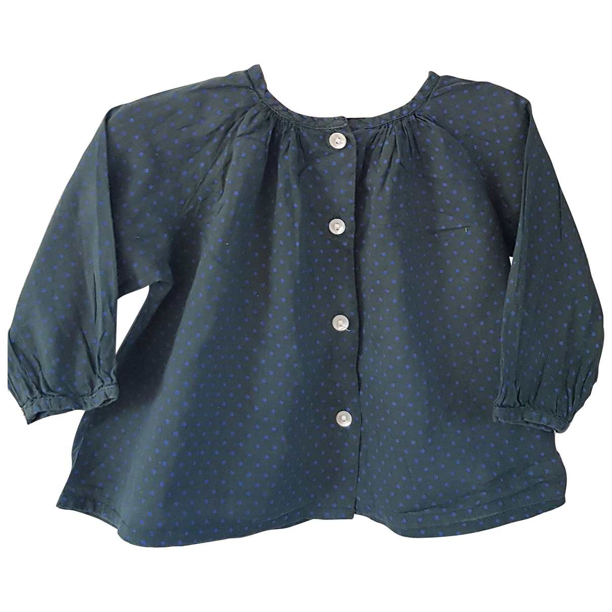 Bonton \N Green Cotton  top for Kids 6 months - up to 67cm FR