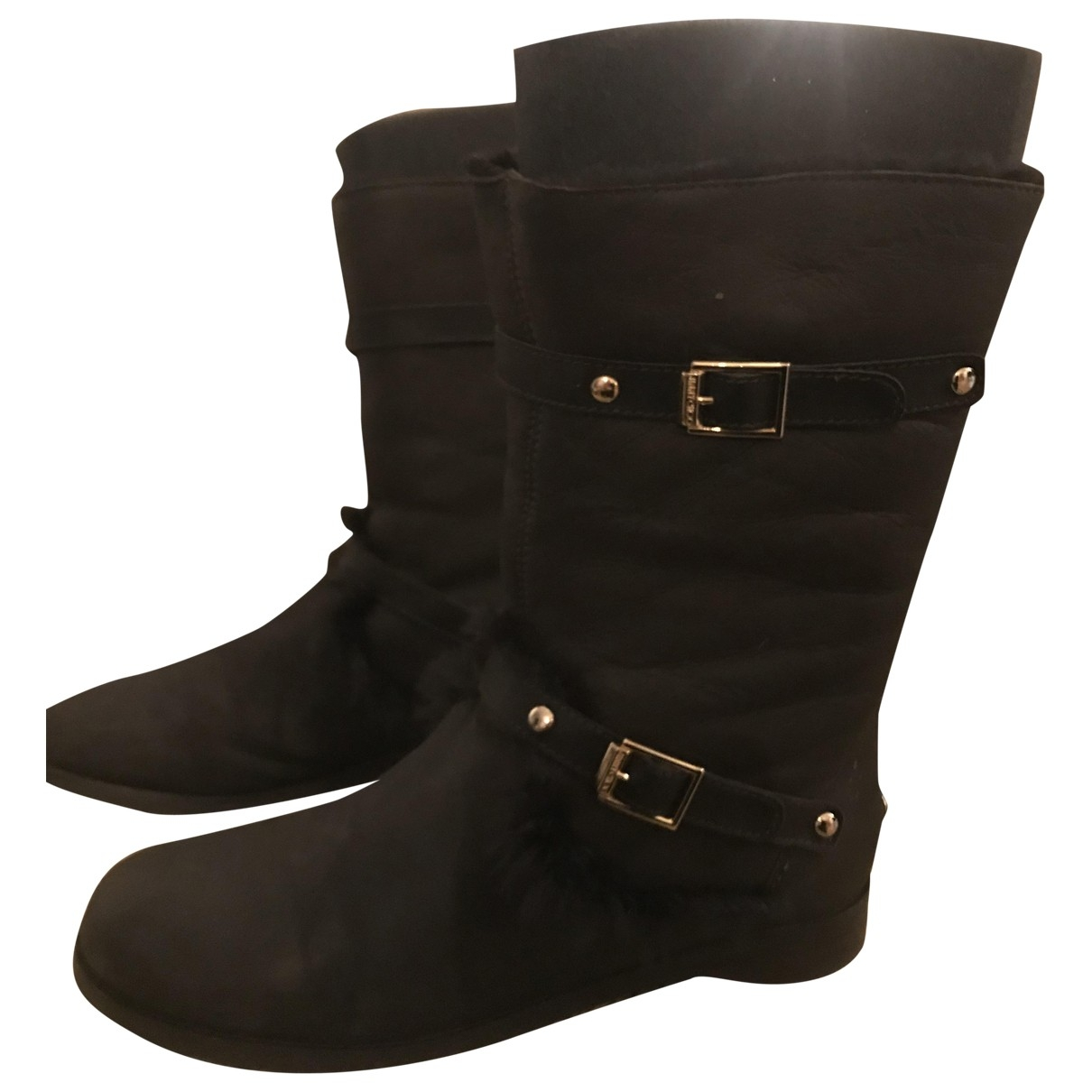 Jimmy Choo \N Brown Leather Boots for Women 39.5 EU